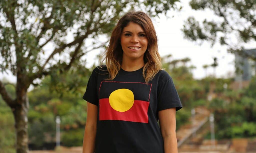 'I am me. A proud Yawuru woman with German and Irish ancestry. And it is not society who decides this for me.' Photograph: IndigenousX